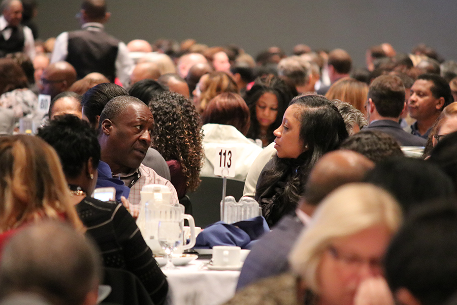 Attendees at the Keynote Luncheon – Monday