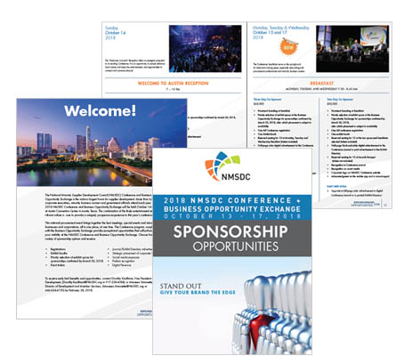 2018 NMSDC Conference Sponsorship Brochure