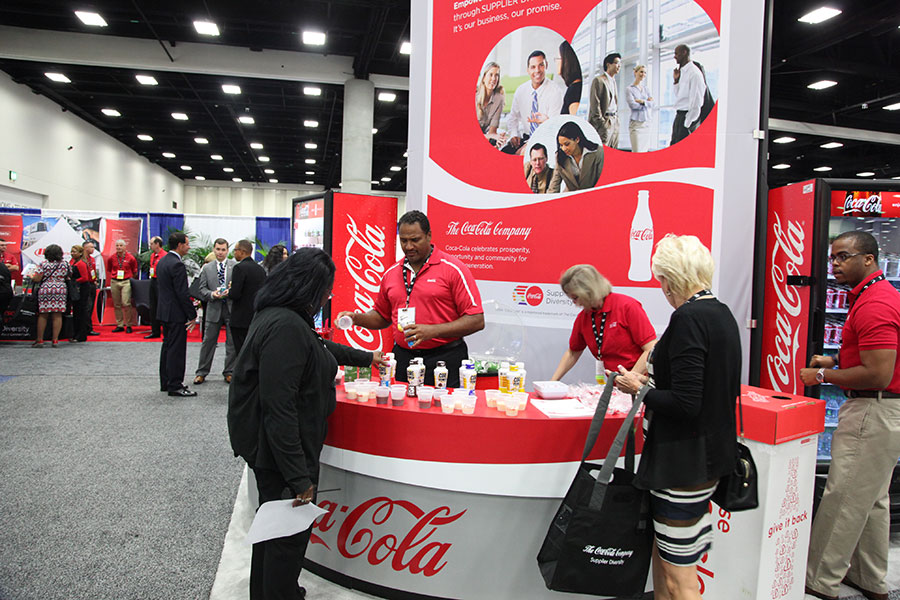 Exhibitors at the 2015 Business Opportunity Exchange