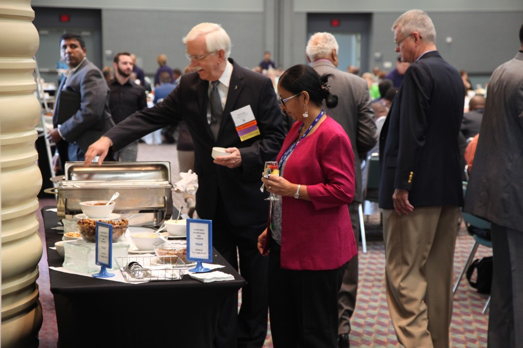 Wednesday's NMSDC Networking Continental Breakfast.